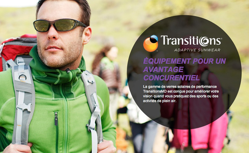 Verre TransitionMD