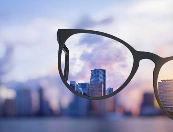 myopie et oeil - trouble de vision