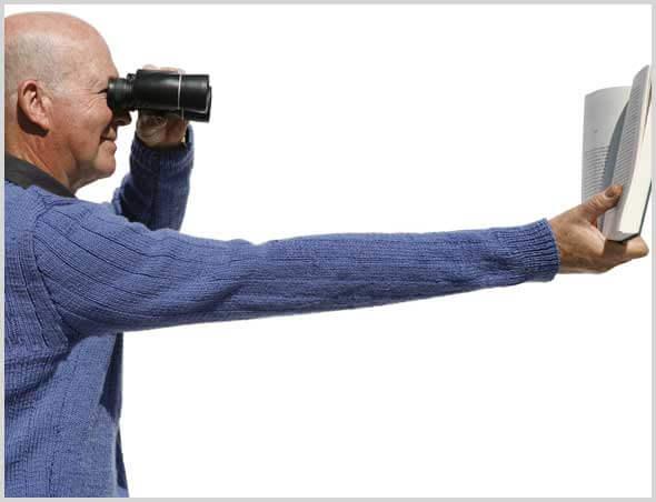 presbytie et trouble de la vue, oeil